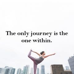 It's Time To Take The Journey Within